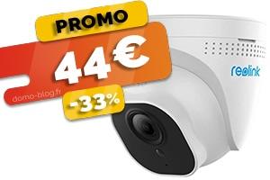 La caméra IP d'exterieur PoE 5MP en #PROMO à seulement 44€ (-33%)