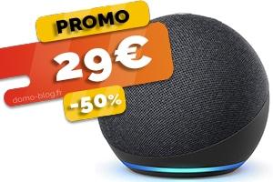 L'amazon Echo Dot 4 en #PROMO pour seulement 29€ (-50%)