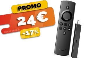 Le boitier multimedia Amazon Fire TV en #PROMO pour seulement 24€ (-17%)