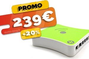 La box domotique Eedomus en #PROMO pour seulement 239€ (-20%)