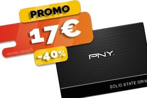 Le disque SSD de 120Go en #PROMO pour seulement 17€ (-40%)