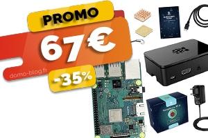Le kit complet Raspberry Pi 3 b+ en #SOLDES pour seulement 67€ (-35%)