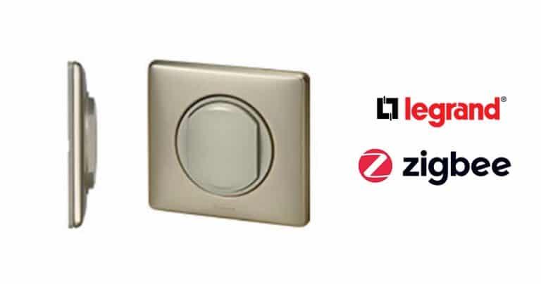 Legrand dévoile un interrupteur sans fil connecté en Zigbee