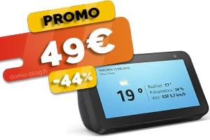L'Assistant Connecté Echo Show 5 en #PROMO pour seulement 49€ (-44%)