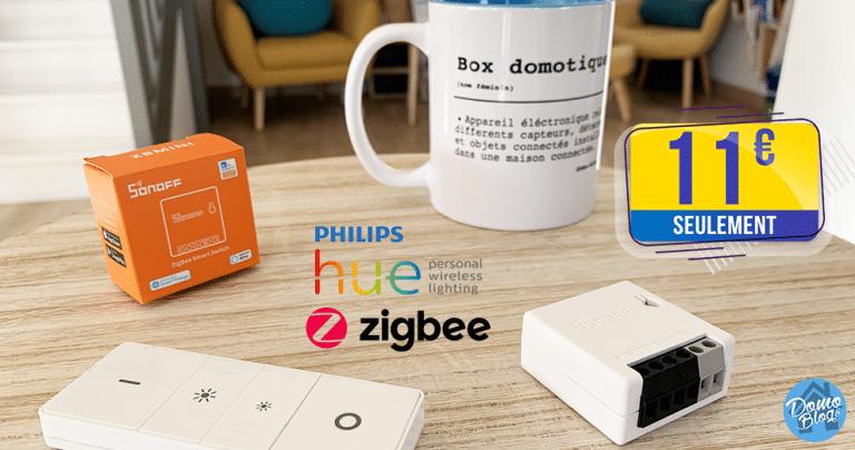 Module Sonoff Zigbee : Connectez vos lumières à Philips Hue pour 11€ seulement