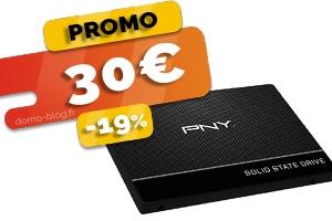 Le disque SSD 240Go en #PROMO pour seulement 30€ (-19%)