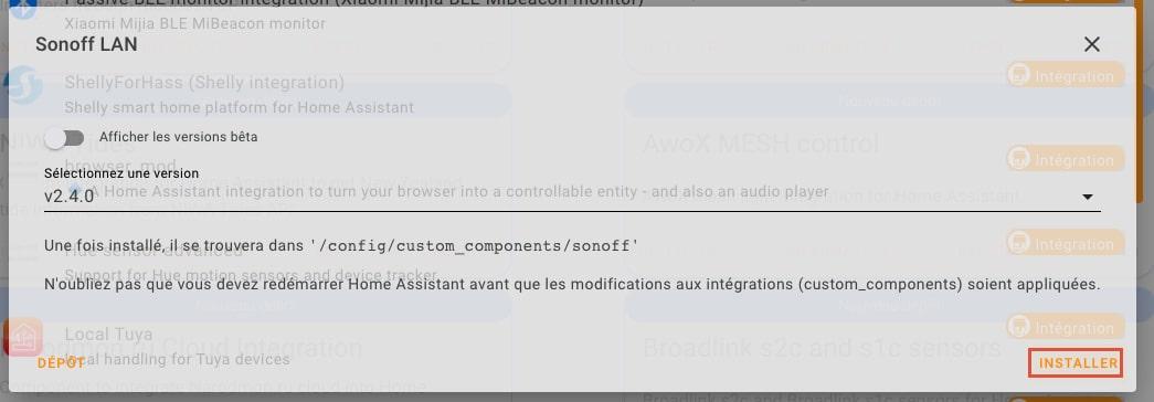 sonoff-lan-home-assistant-installer copie