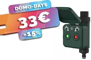 Le contrôleur d'arrosage Zigbee 3.0 en #PROMO pour seulement 33€ (-15%)