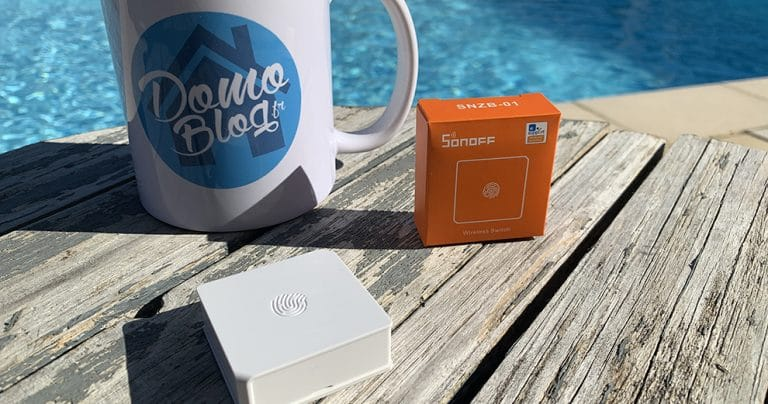 Test du bouton ZigBee 3.0 Sonoff SNZB01 : Un bouton parfait pour la domotique DIY au jardin à moins de 12€
