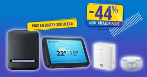 La gamme Amazon Echo affiche des prix en baisse jusqu'à -44% 🔥