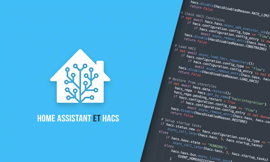 Comment installer HACS sur Home Assistant? Le store des intégrations HA