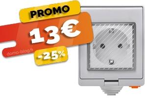 La prise connectée étanche wifi Sonoff compatible Jeedom et Home assistant en #PROMO pour seulement 13€ (-25%)