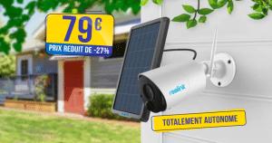 La caméra autonome Reolink Argus ECO et son panneau solaire en baisse à seulement 79€ (-27%) 🔥