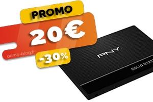 Le disque SSD de 120Go PNY en #PROMO pour seulement 20€ (-30%)