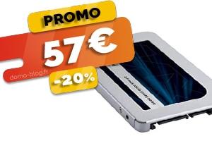 Le disque SSD de 500Go Crucial en #PROMO pour seulement 30€ (-39%)