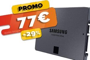 Le disque SSD 1To Samsung en #PROMO pour seulement 77€ (-29%)