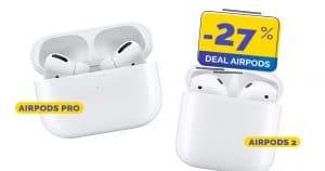 AirPods Pro et AirPods 2, c'est le moment de craquer avec actuellement -27% sur les écouteurs sans fils Apple