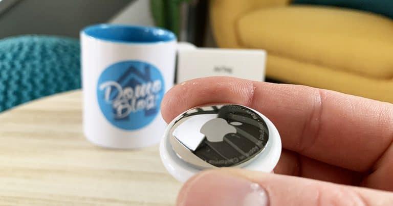 Test du Airtag, le traqueur d'objets intelligent par Apple