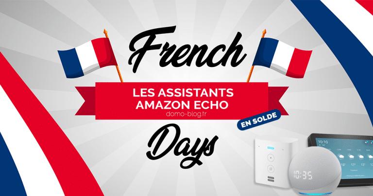 French Days domotiques 2021 : Les assistants Amazon Echo en chute libre avant même le début