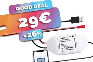 L'ouvre porte de garage ou portail connecté en wifi en #PROMO pour seulement 29€ (-26%)