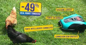 Le robot tondeuse connecté qui tond en bandes Bosch Indego S+ actuellement à -49% 😱