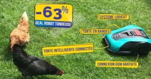 Le robot tondeuse connecté qui tond en bandes Bosch Indego S+ actuellement à -63% 😱