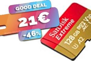 La carte micro SD Sandisk Extreme 128Go en #PROMO pour seulement 21€ (-46%)