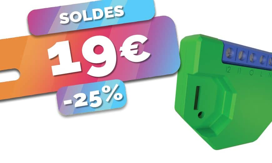Le module Wifi Shelly Dimmer 2 est en SOLDES à seulement 19€ (-25%)🔥