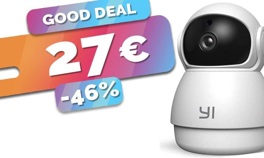 Seulement 27€ la caméra connectée 360° à détection de son anormal et détection humaine (46%)🔥