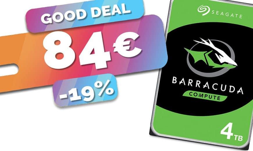 Le disque dur 4To Seagate parfait pour NAS en PROMO au prix de 84€ seulement (-19%)🔥
