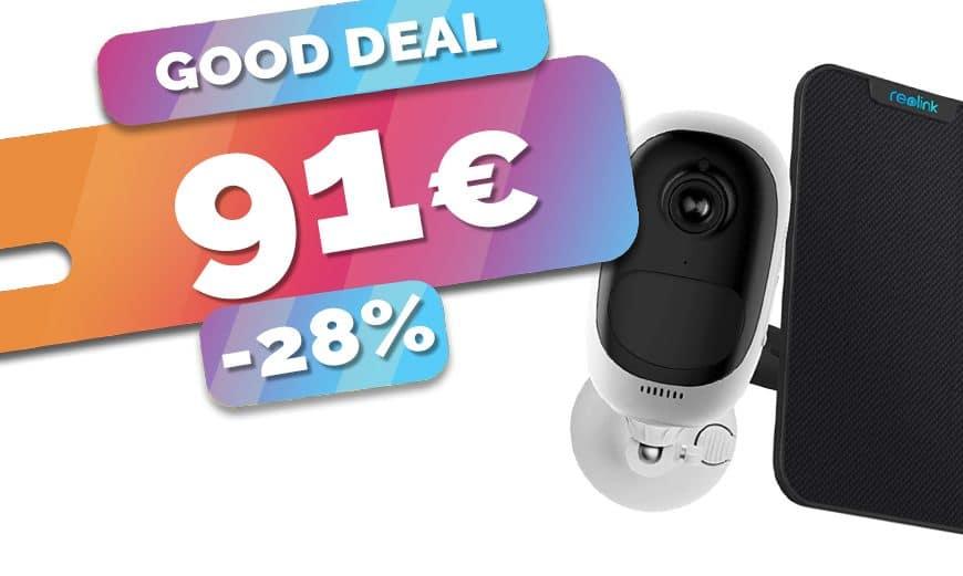 La caméra IP autonome Reolink Argus Pro et son panneau solaire sont en SOLDES à seulement 91€ (-28%)🔥