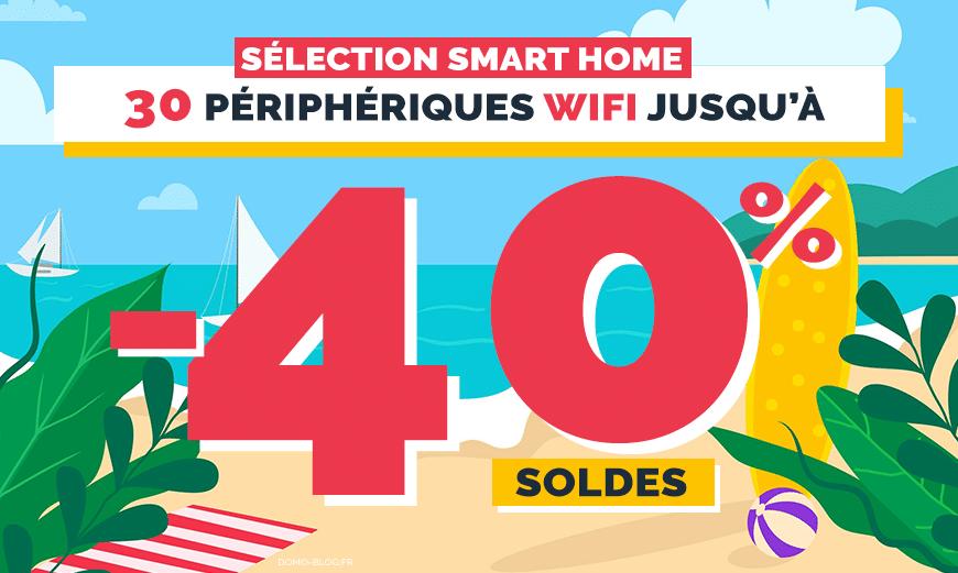 Soldes maison connectée : 30 deals domotique wifi à ne pas manquer