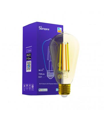 SONOFF - Ampoule à filament LED Wi-Fi intelligente (Ambre)