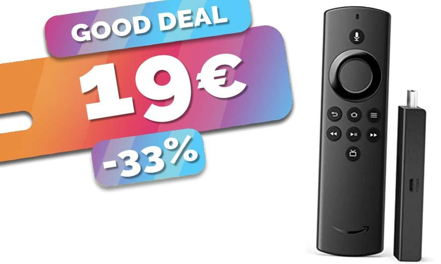 Le dongle média player Amazon Fire TV Stick Lite est en PROMO à seulement 19€ (-33%)🔥