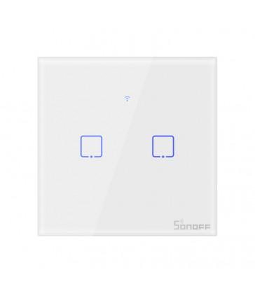 SONOFF - Interrupteur intelligent WIFI avec neutre - 2 charges