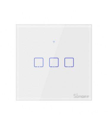 SONOFF - Interrupteur intelligent WIFI avec neutre - 3 charges