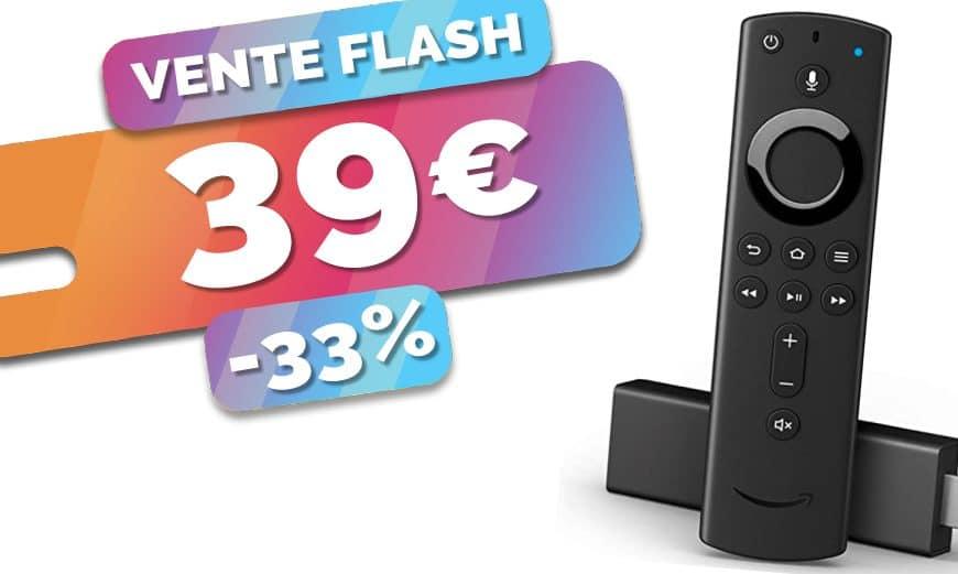 Le média player Amazon Fire TV Stick 4K est en PROMO à seulement 39€ (-33%)🔥