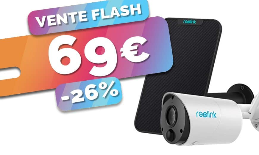 La caméra autonome Reolink Argus Eco avec panneau solaire est en PROMO à seulement 69€ (-26%)🔥