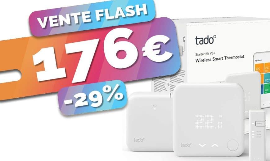Préparez l'hiver avec le thermostat connecté Tado sans fil en promo à 176€ (-29%)🔥