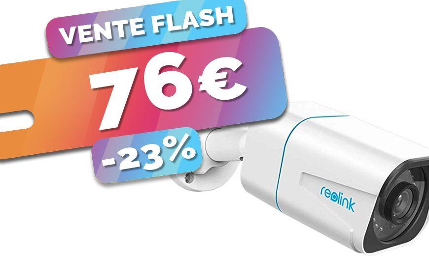 La caméra 4K Reolink et son système de détection Homme/voiture est en VENTE FLASH à seulement 76€ (-23%)🔥