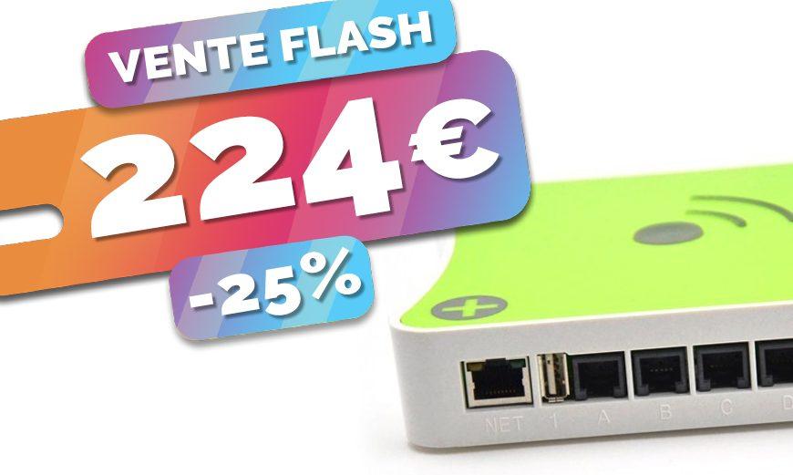 La box domotique Eedomus+ est en VENTE FLASH à seulement 224€ (-25%)🔥