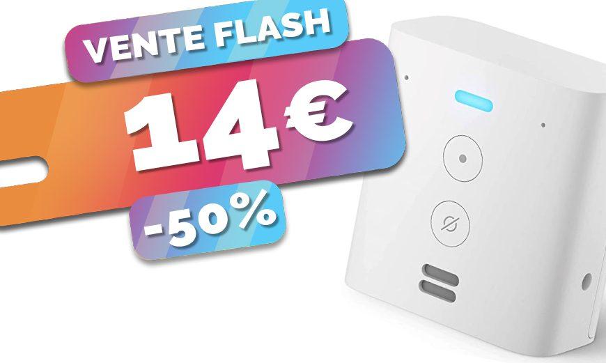 Le haut parleur intelligent assistant Amazon Echo Flex est en PROMO à seulement 14€ (-50%)🔥
