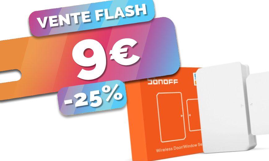 démarrez la domotique en douceur avec le détecteur de d'ouverture Zigbee Sonoff à seulement 9€ (-25%)🔥