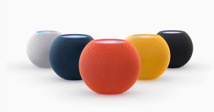 HomePod Mini : L'assistant intelligent d'Apple s'affiche en couleur