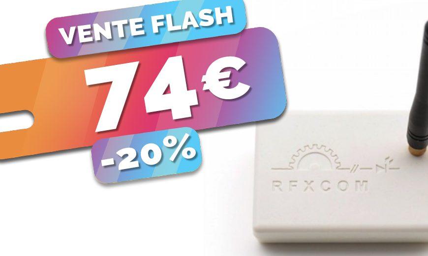 Ajouter le RTS Somfy et bien d'autres à votre domotique avec le RFXCom à seulement 74€ (-20%)🔥