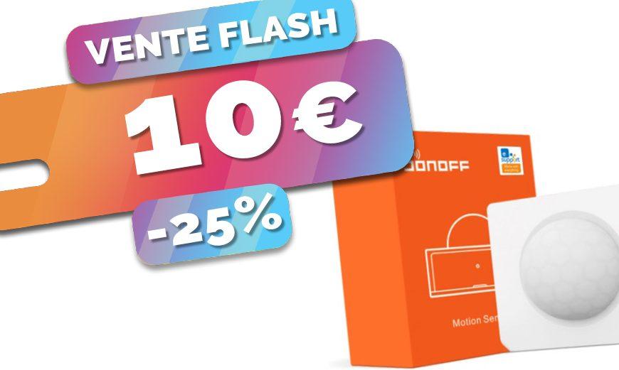 démarrez la domotique Zigbee en douceur avec le détecteur de mouvements Sonoff à seulement 10€ (-25%)🔥