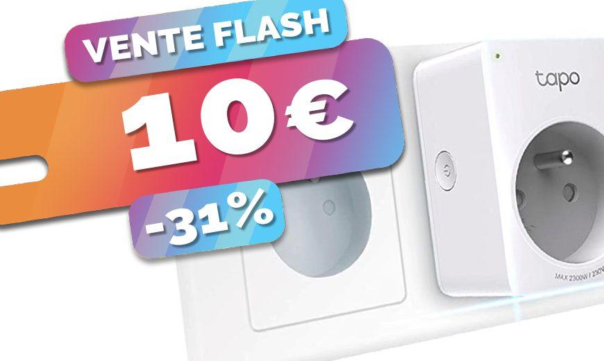 La prise connectée TP-Link Tapo P100 est à seulement 10€ (-31%)🔥
